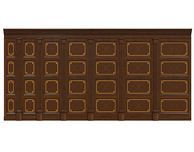Wood panels 09 3D model