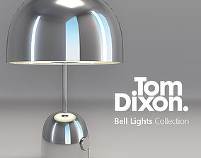 3D Tom Dixon Bell Lights lamp collection