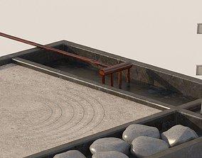 Miniature Zen Garden 3D model