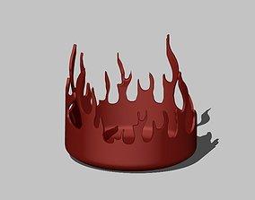 Fire Ashtray 3D print model