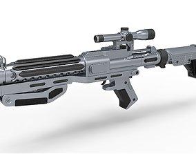 Captain Phasma Blaster rifle F-11D Star Wars 3D model 2
