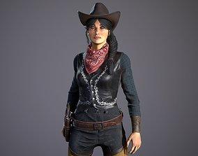 3D model rigged Bandit