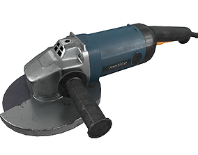 Angle Grinder Used Dirty 3D model
