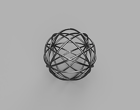 3D print model Skeletone Sphere