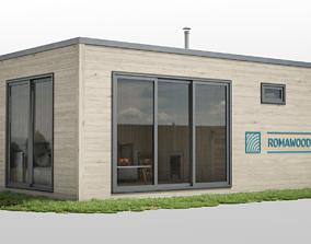 3D asset Modular sauna