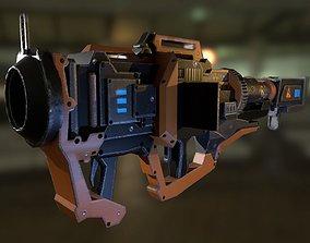 Scifi Rocket Launcher 3D model
