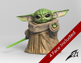 3D print model May the Baby Force be with you