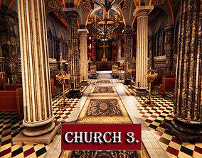 Church 3 3D asset