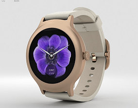 LG Watch Style Rose Gold 3D model