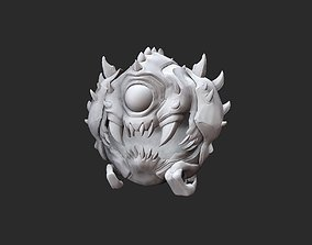Cacodemon Doom Collectable Toy 3D Model STL File