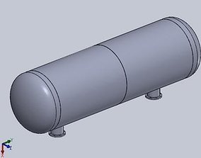 Tank OIL 3D model