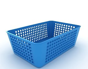 Plastic Baskets 3D