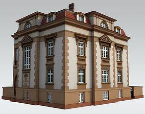 3D asset Elegant Townhouse