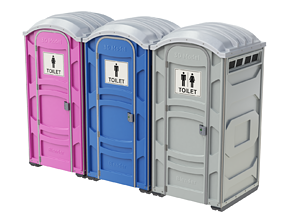 Portable Toilet potty 3D