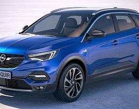 3D model Opel Grandland X 2019