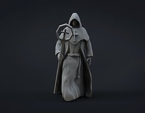 MEDIEVAL MONK CONCEPT MODEL 3D ZBRUSH