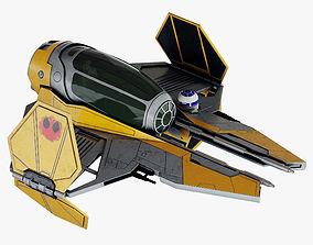 Star Wars ETA-2 Jedi Interceptor 3D