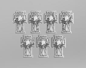 Raptor Power Shields 40k Version 3 3D printable model