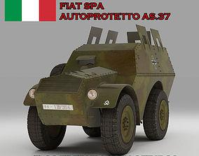 Autoprotetto Fiat Spa AS37 3D model