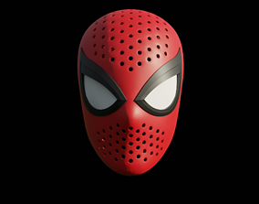 3D printable model Spiderman PS4 Face Shell