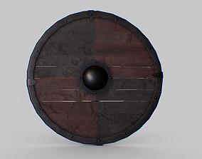 3D asset realtime Viking Shield