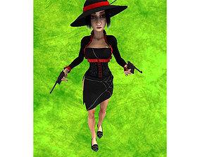 Madam Shapoklyak for Unity 3D asset