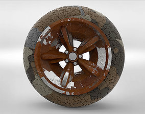 3D asset Wheel