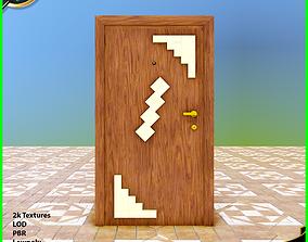 3D model Simple Door