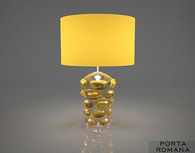Porta Romana Blob lamp Amber 3D model