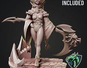 lolth Drow Reaper Pose 1 - 3D Printable
