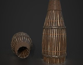 Game Ready Fish trap D180410 3D model low-poly
