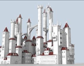 3D model Procedural generator of random castles