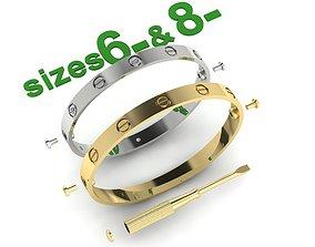 Bracelet two options 3D print model