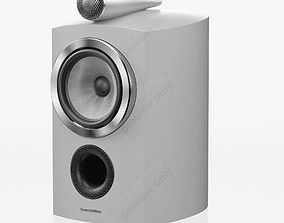 Bowers and Wilkins 805 D3 Satin White 3D model