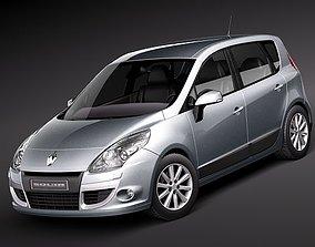 3D model Renault Scenic 2010