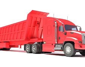 3D model Dump Truck work