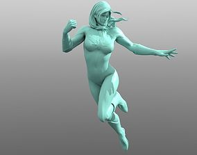 danvers 3D printable model Captain Marvel
