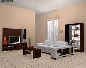 Living Room 3D asset