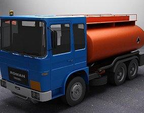 3D Roman Diesel Fuel Cistern