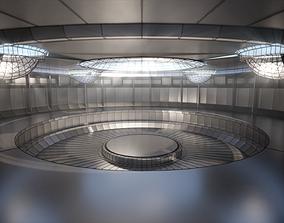 sci-fi showroom 3D