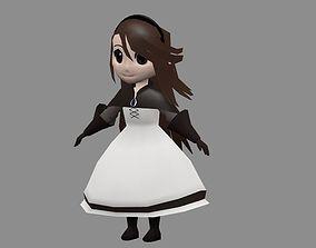 Agnes Oblige 3D asset