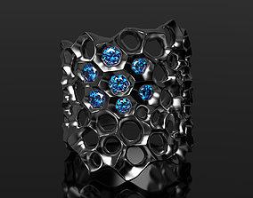 Neon honey ring 3D printable model
