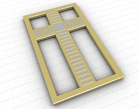 Cross various-models relief 3D asset game-ready