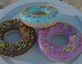 Free Donuts 3D model