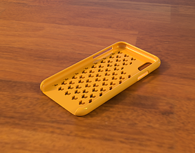 tablet-computer 3D printable model iPhone Case