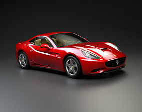auto Ferrari California 3D model