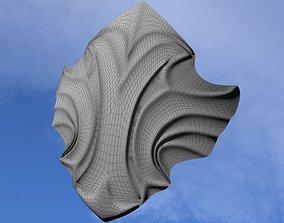 3D asset Fantasy shield