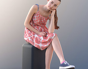 3D model Mady 10112 - Sitting Casual Girl