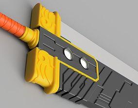Final Fantasy VII Series - Buster Sword - 3D print model 2