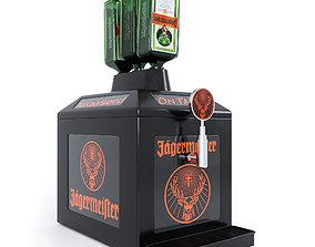 Jagermeister Tap Machine 3D model